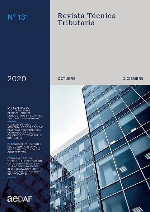 Ver Vol. 4 Núm. 131 (2020): Revista Técnica Tributaria - Nº 131