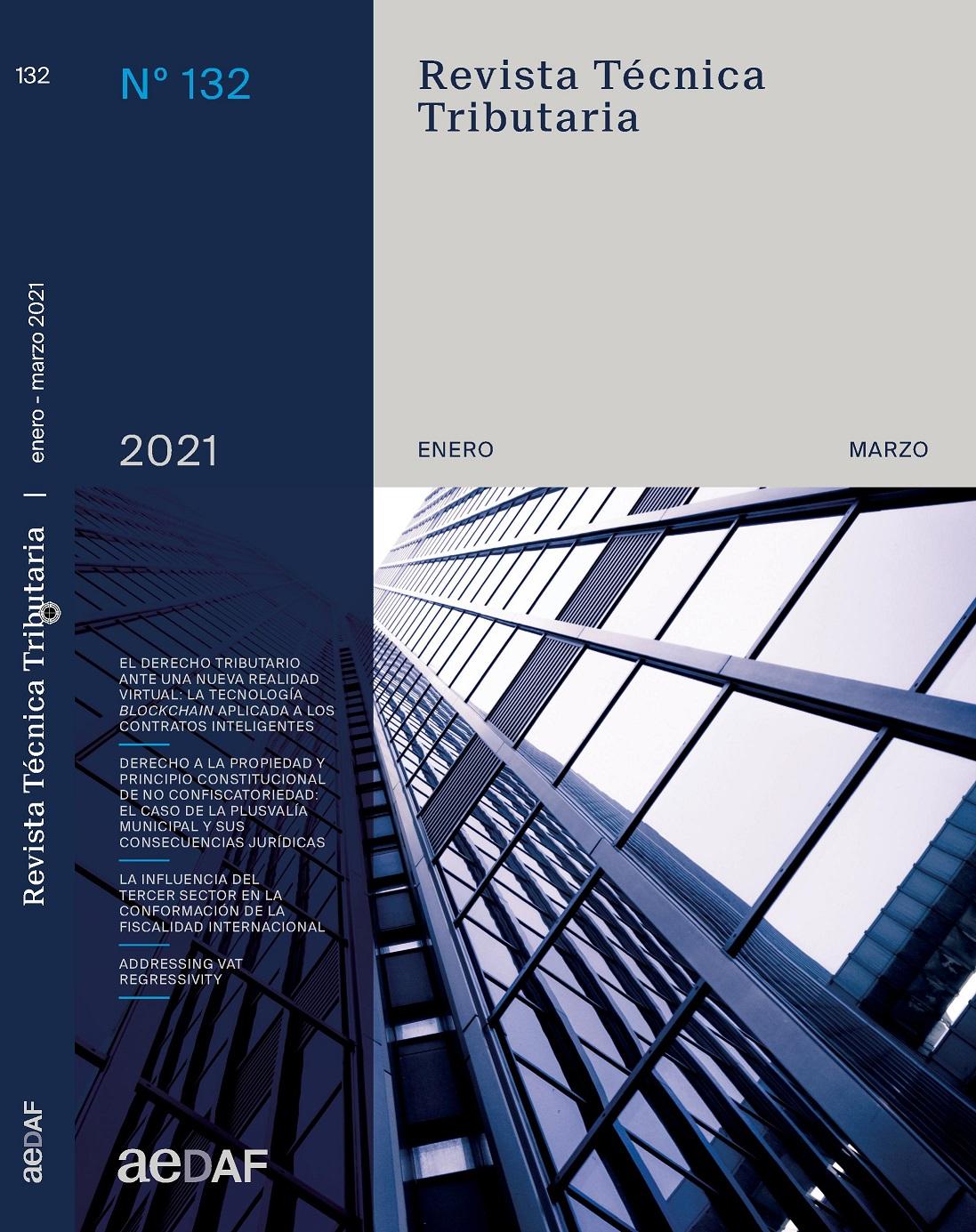 Ver Vol. 1 Núm. 132 (2021): Revista Técnica Tributaria - Nº 132